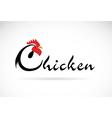 Chicken design vector