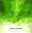 Abstract green background with mosaic for business vector