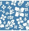 Tropical summer flowers seamless pattern vector