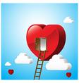 Just open heart happy valentine day 001 vector
