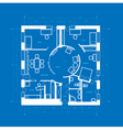Blueprint abstract vector