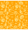 Halloween seamless vector