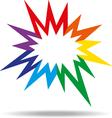 Colorful icon vector