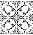 Oriental style seamless pattern twelve vector