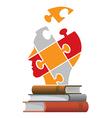 Books education concept vector