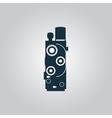 Retro movie camera vector