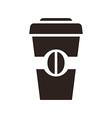 Coffee to go icon vector