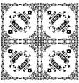 Oriental style seamless pattern thirteen vector