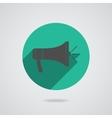 Megaphone icon loudspeaker isolated vector