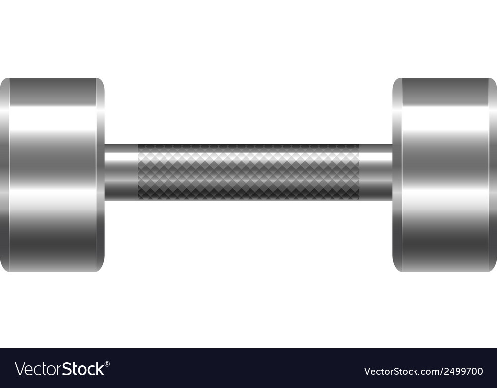 A dumbbell vector | Price: 1 Credit (USD $1)