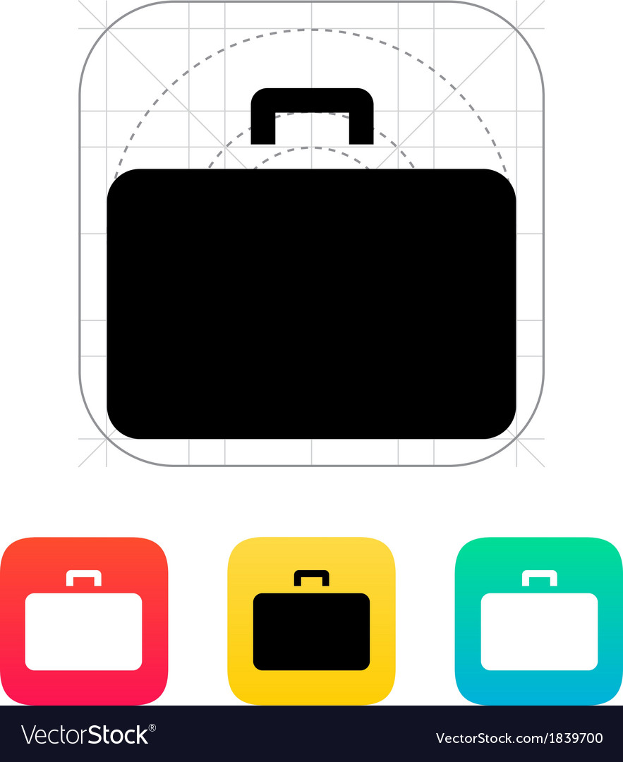 Case icon vector | Price: 1 Credit (USD $1)