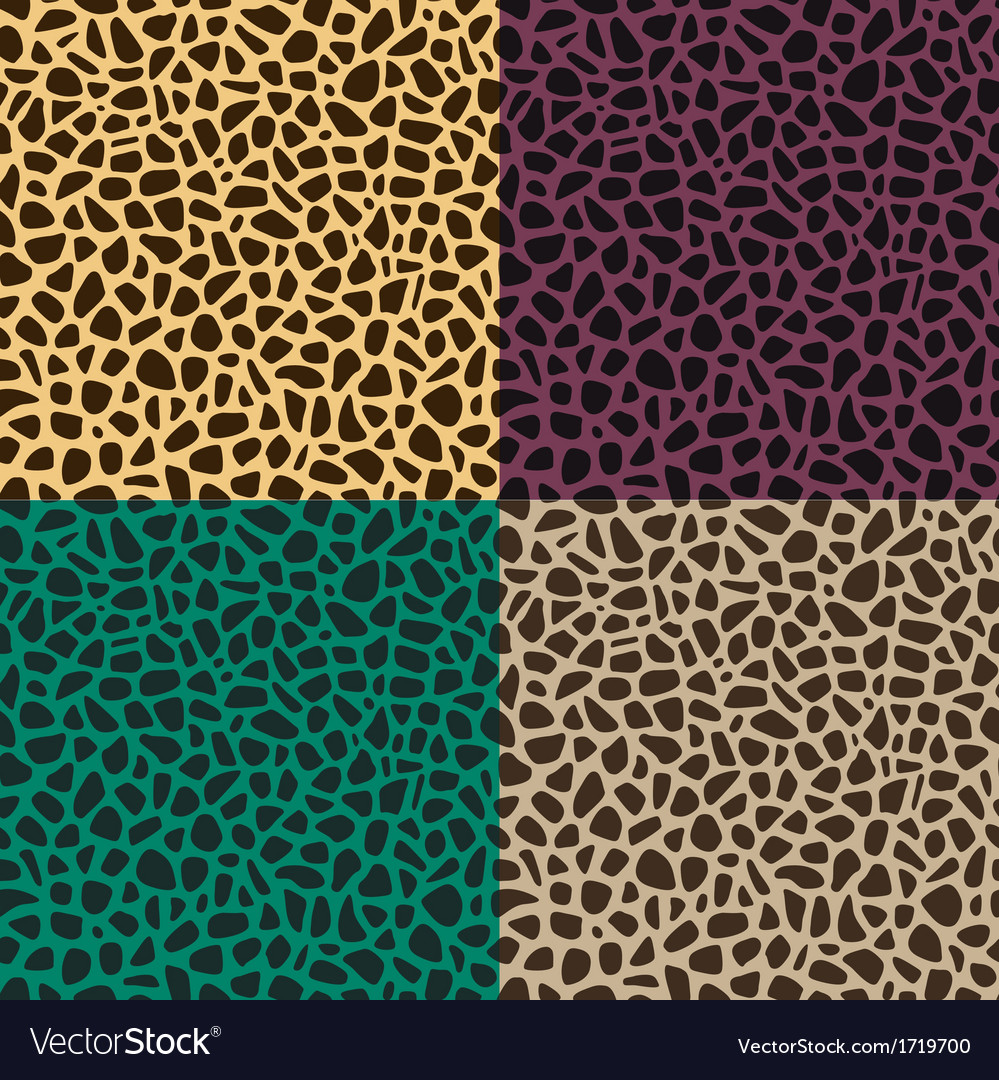 Seamless leopard cheetah animal skin pattern vector | Price: 1 Credit (USD $1)