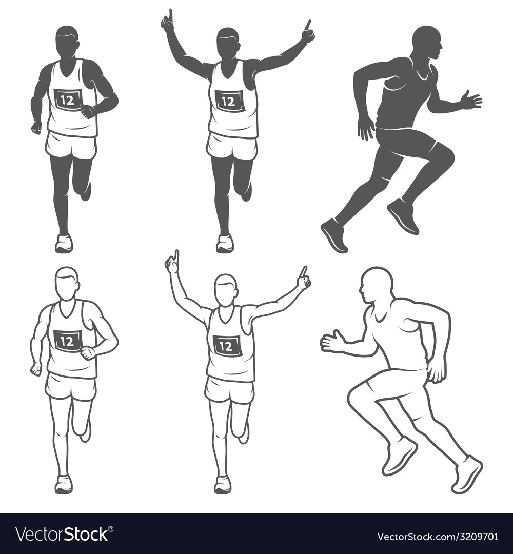 Marathon 3 vector | Price: 1 Credit (USD $1)