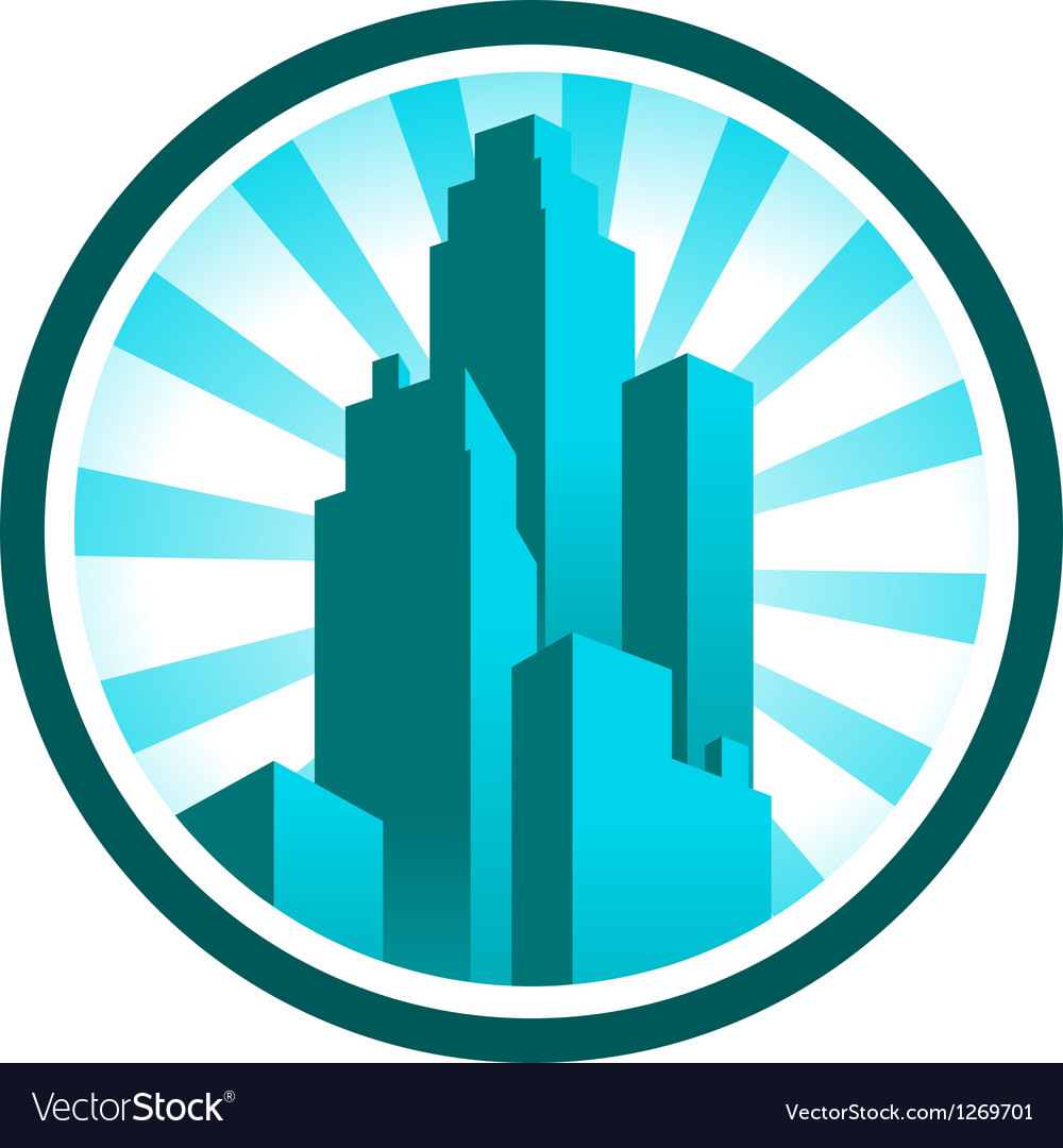 Skyscraper icon vector | Price: 1 Credit (USD $1)