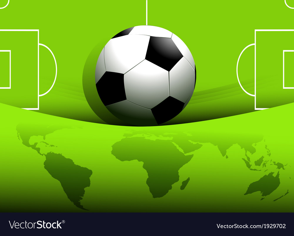 Abstract football background vector | Price: 1 Credit (USD $1)