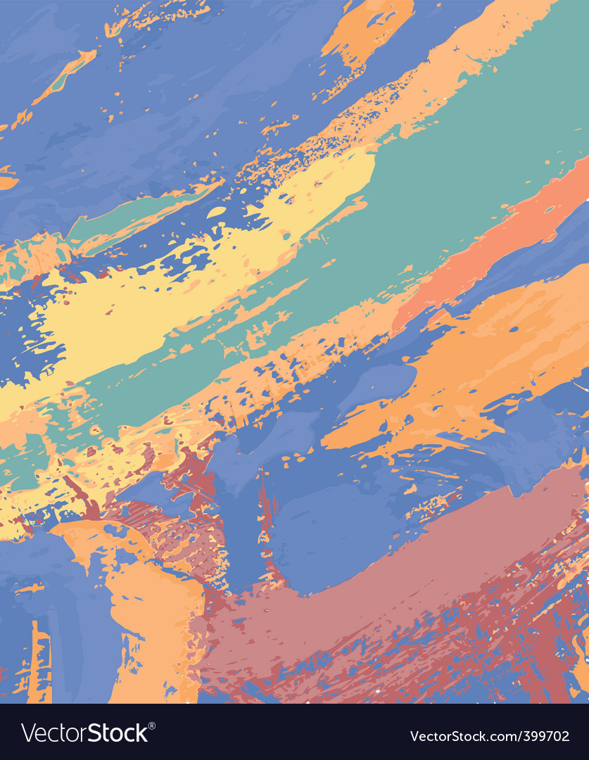 Abstract painting vector | Price: 1 Credit (USD $1)