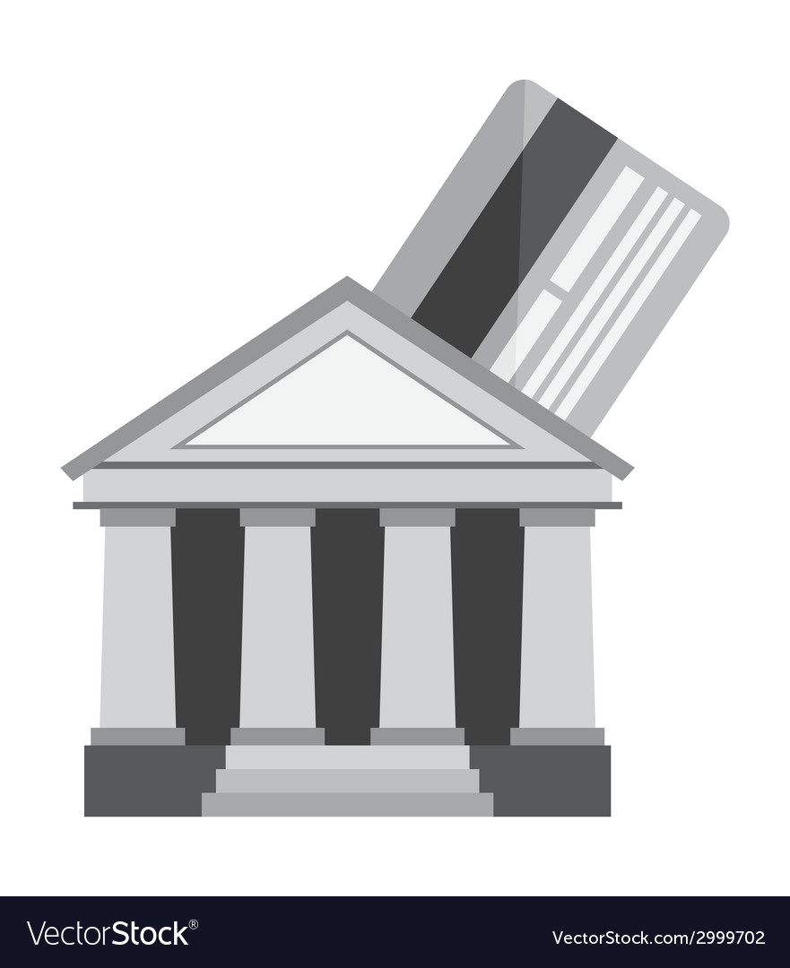 Banking design vector | Price: 1 Credit (USD $1)