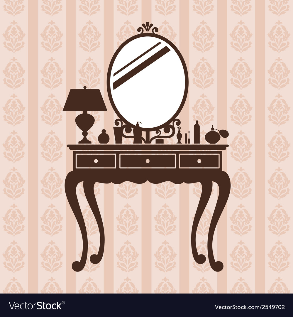 Dressing table vector | Price: 1 Credit (USD $1)
