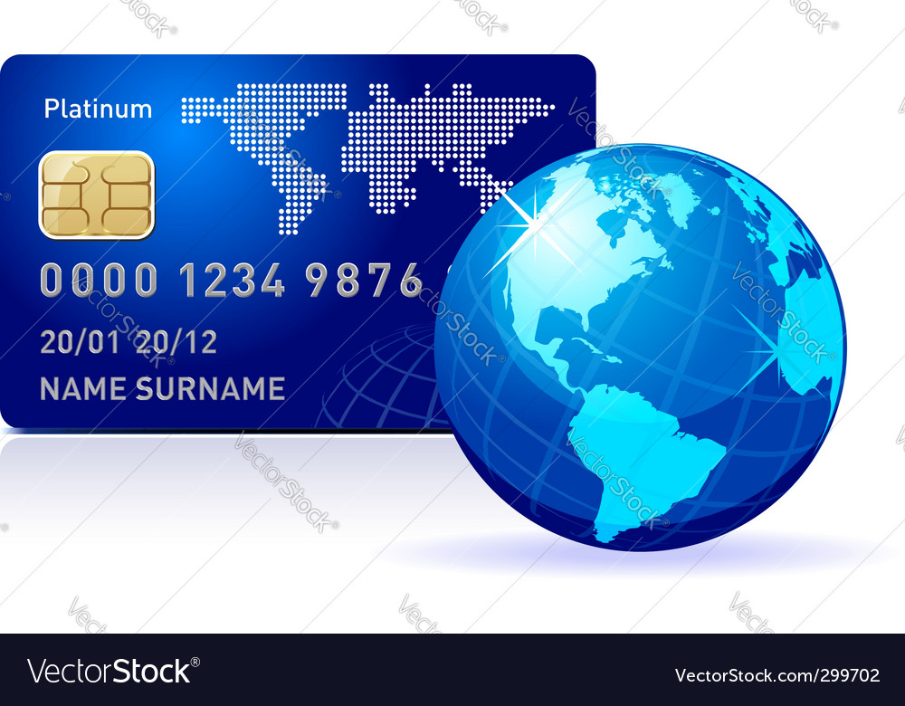 Internet banking vector | Price: 1 Credit (USD $1)