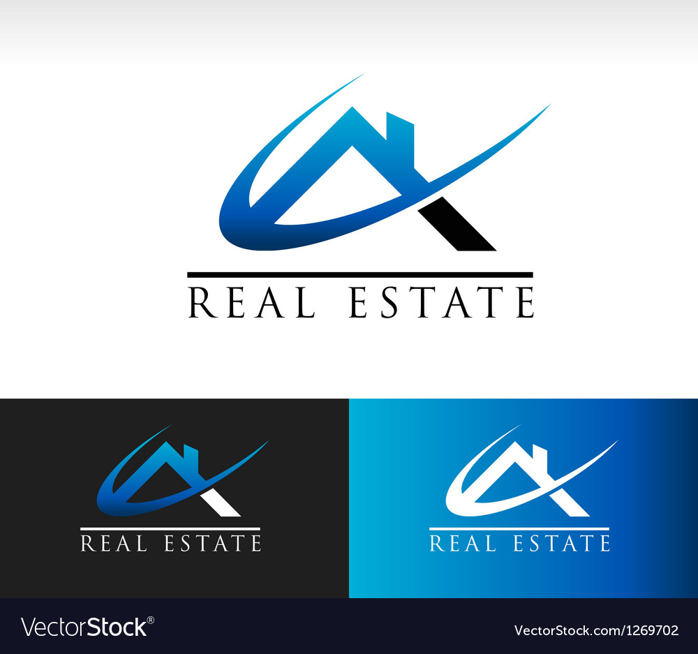 Real estate house roof icon vector | Price: 1 Credit (USD $1)