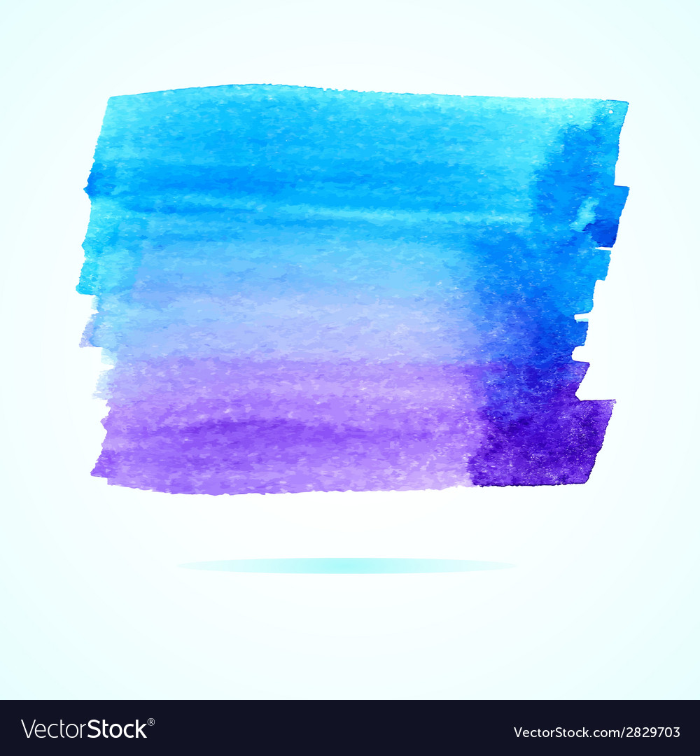 Abstract watercolor art hand paint vector | Price: 1 Credit (USD $1)