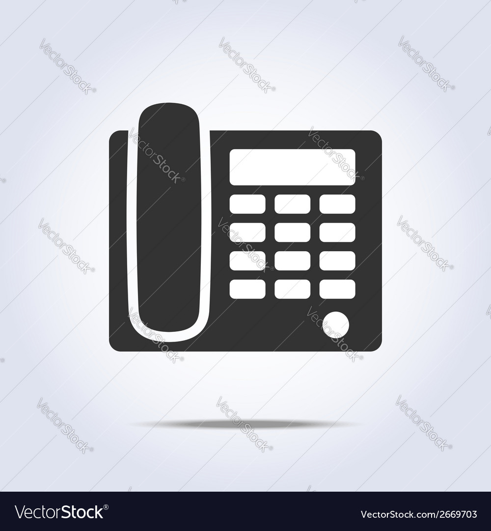 Phone icon vector | Price: 1 Credit (USD $1)