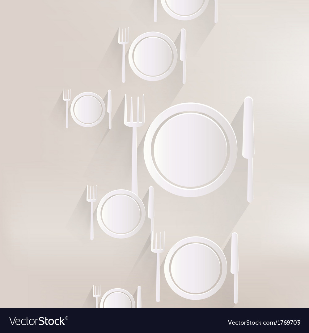 Plate web icon vector | Price: 1 Credit (USD $1)