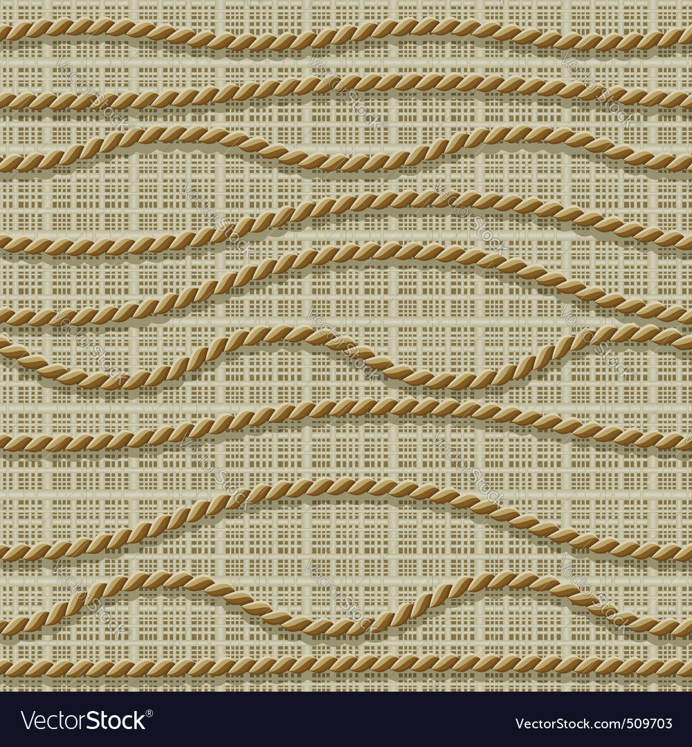 Seamless ropes vector | Price: 1 Credit (USD $1)
