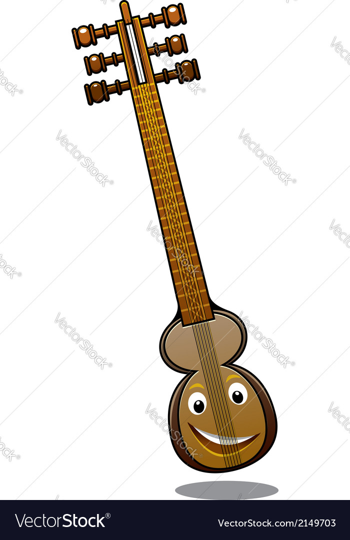 Turkish musical instrument kemenche vector | Price: 1 Credit (USD $1)