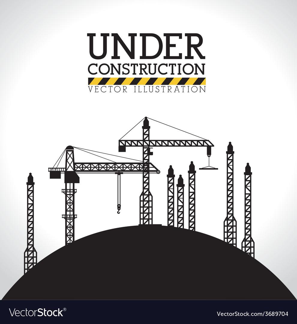 Construction design vector   Price: 1 Credit (USD $1)
