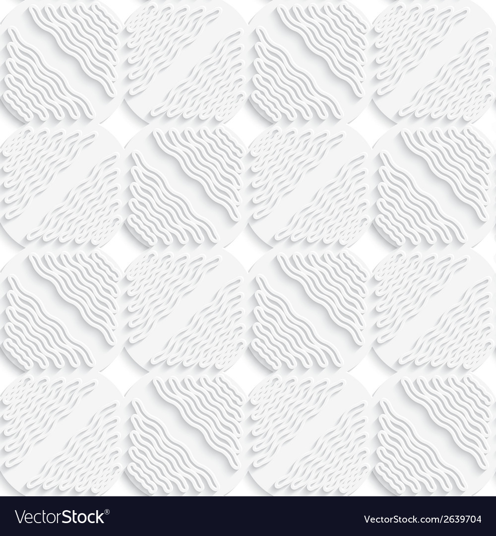 Diagonal white wavy lines and squares layered vector | Price: 1 Credit (USD $1)