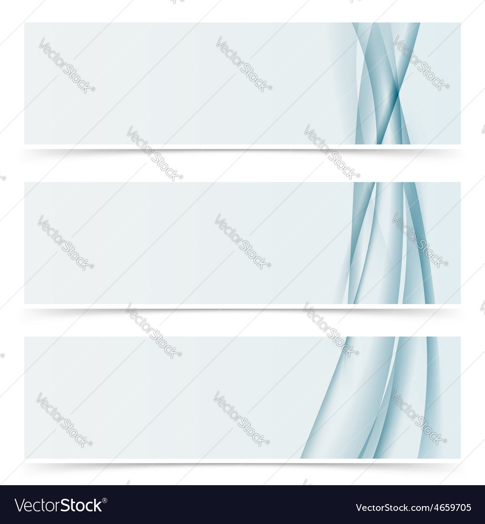 Abstract line horizontal modern header template vector | Price: 1 Credit (USD $1)