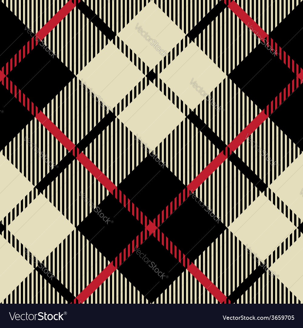 Black and beige fabric texture diagonal pattern vector | Price: 1 Credit (USD $1)