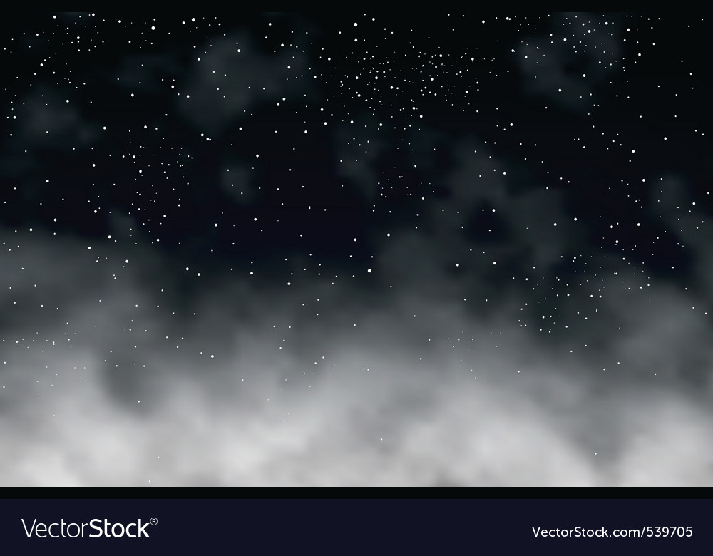 Night clouds vector | Price: 1 Credit (USD $1)