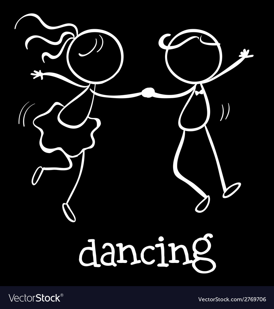 Dancing vector | Price: 1 Credit (USD $1)