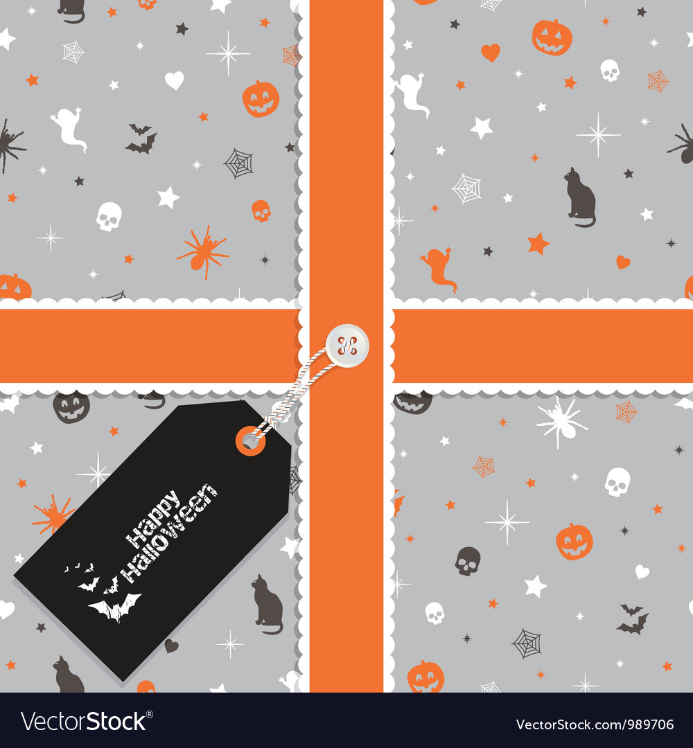 Halloween wrapping vector | Price: 1 Credit (USD $1)