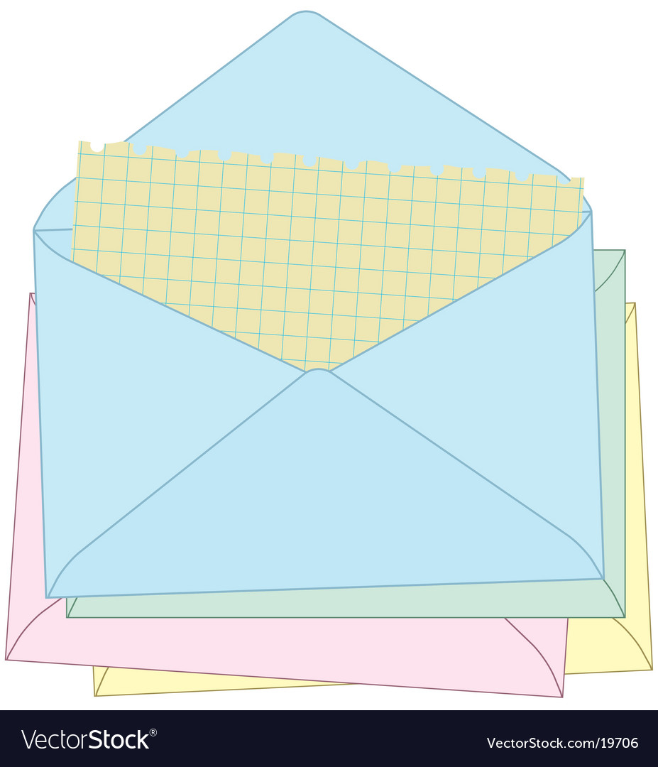 Sending my mail vector | Price: 1 Credit (USD $1)
