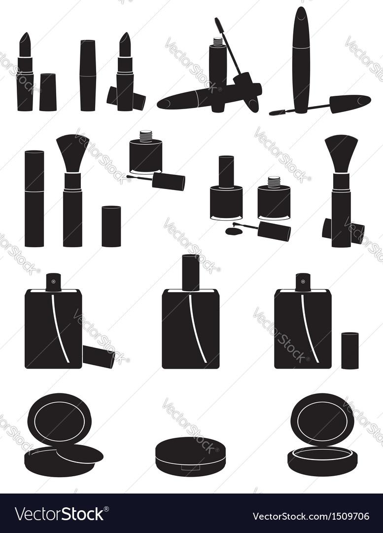 Set icons cosmetics 02 vector | Price: 1 Credit (USD $1)