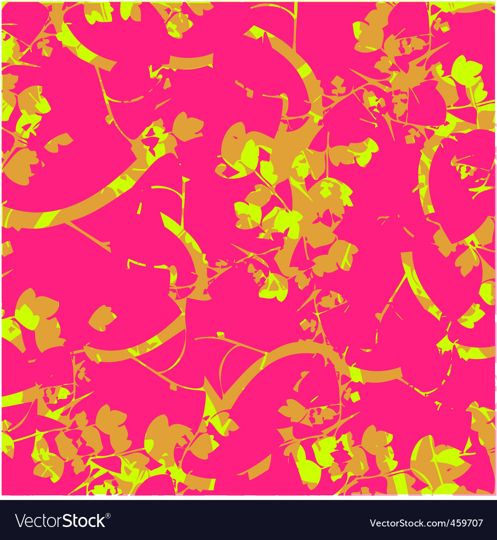 Abstract nature on pink background vector | Price: 1 Credit (USD $1)