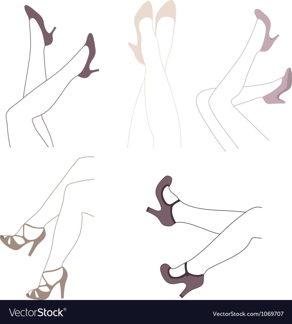 Legs vector   Price: 1 Credit (USD $1)