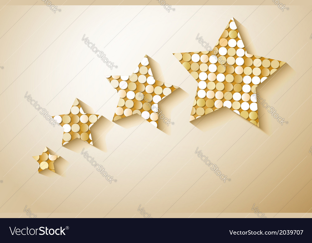 Shiny sequins stars eps 10 vector | Price: 1 Credit (USD $1)
