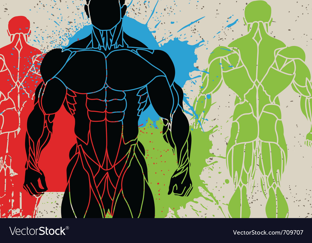 Strong man vector | Price: 1 Credit (USD $1)