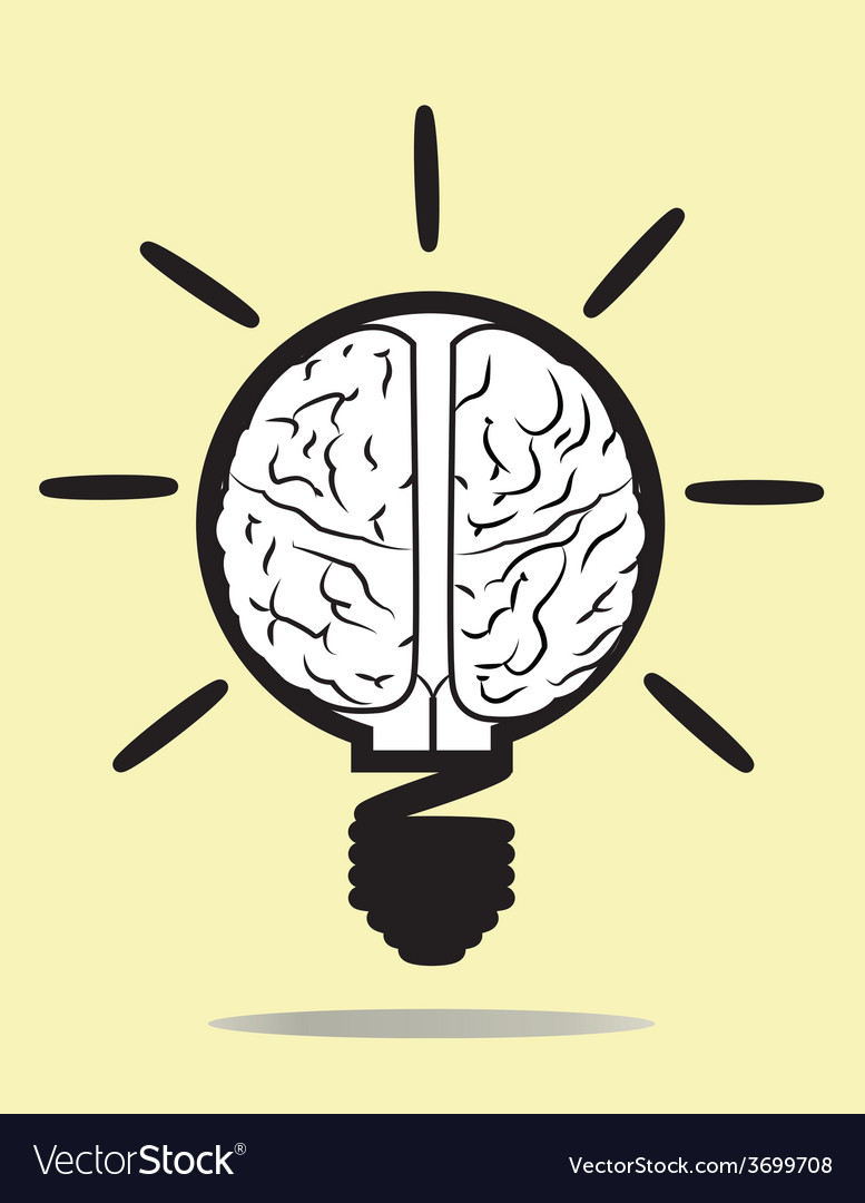 Brain and idea vector | Price: 1 Credit (USD $1)