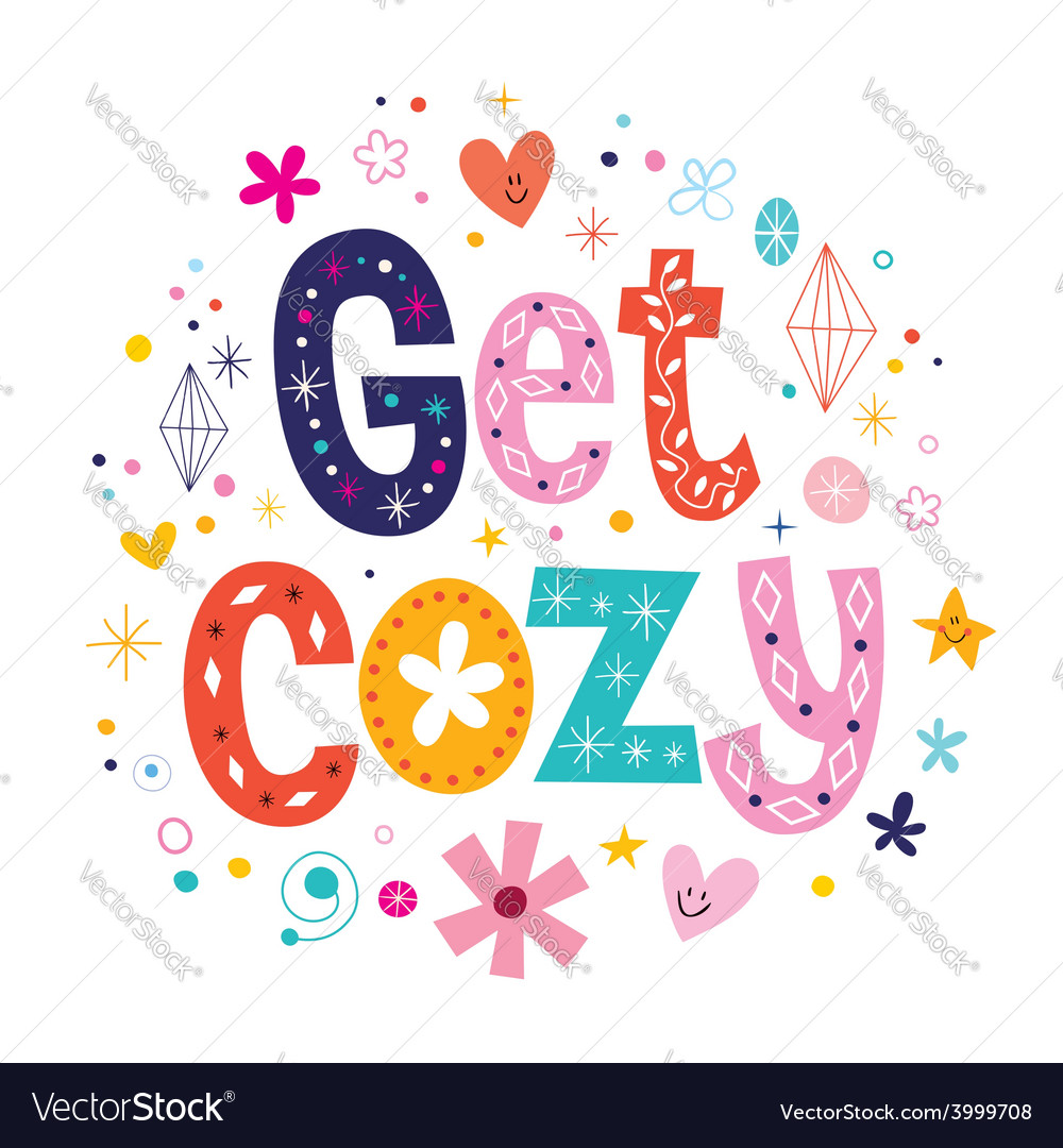 Get cozy vector | Price: 1 Credit (USD $1)