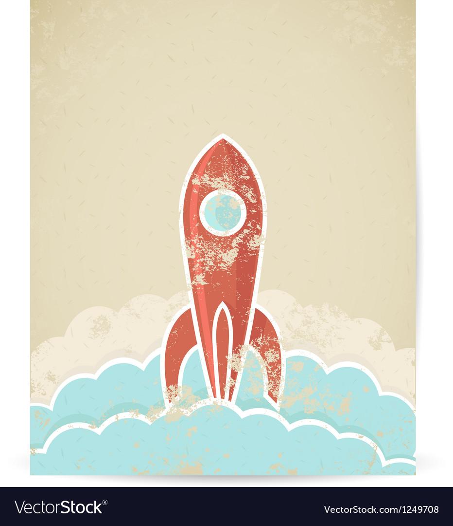 Rocket vector | Price: 1 Credit (USD $1)