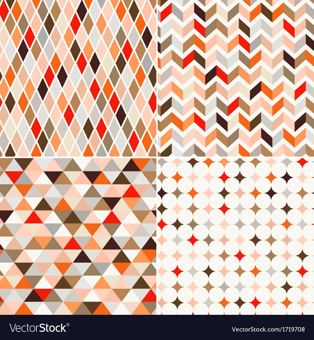 Seamless abstract geometric pattern vector   Price: 1 Credit (USD $1)