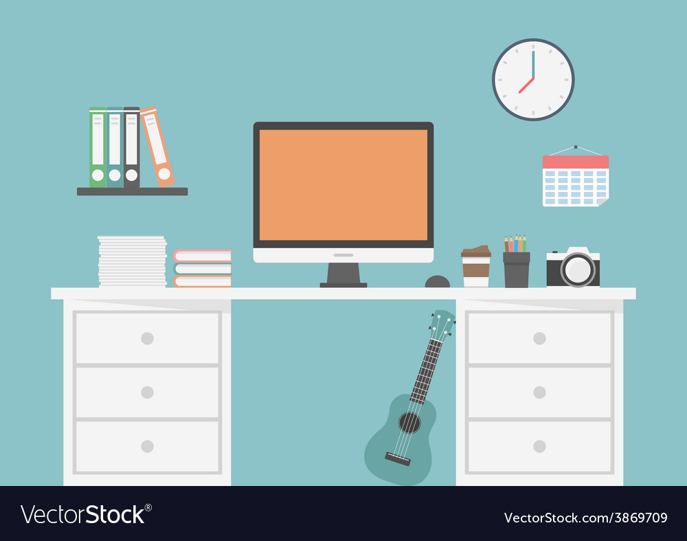 54workspace vector | Price: 1 Credit (USD $1)