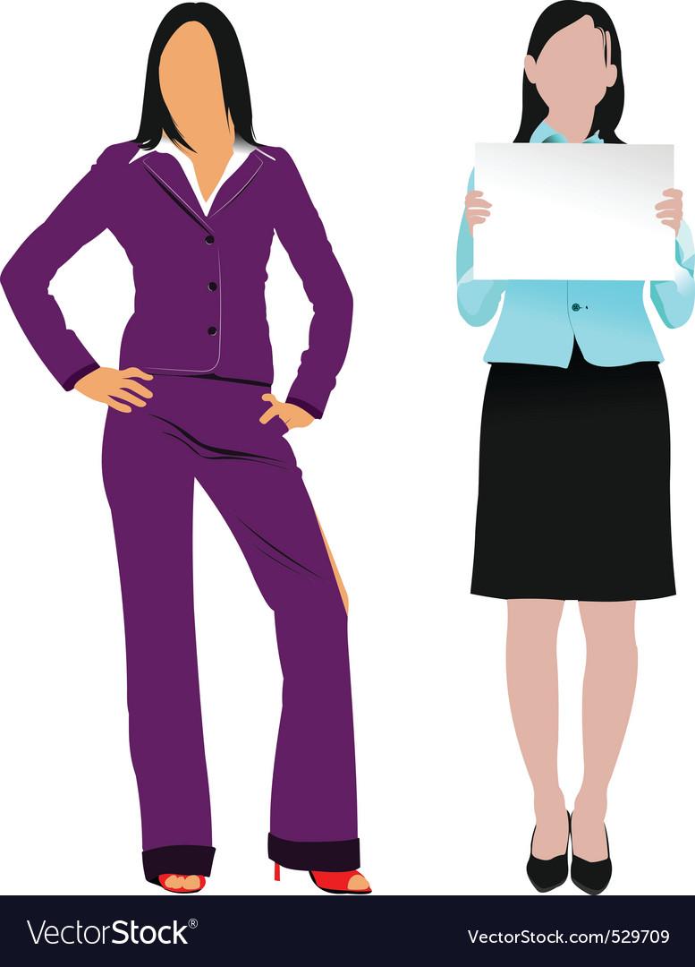 Businesswoman vector   Price: 1 Credit (USD $1)