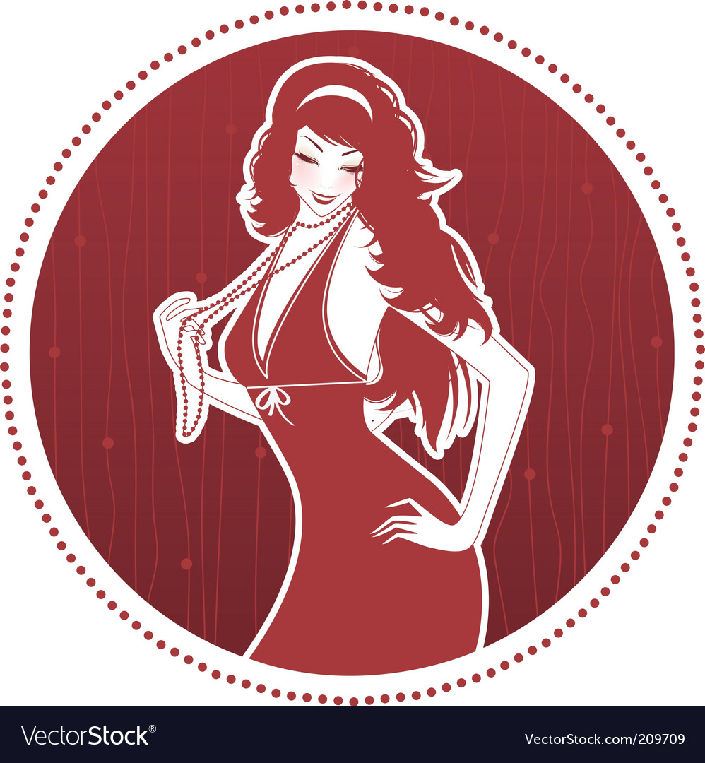 Elegance women vector | Price: 3 Credit (USD $3)