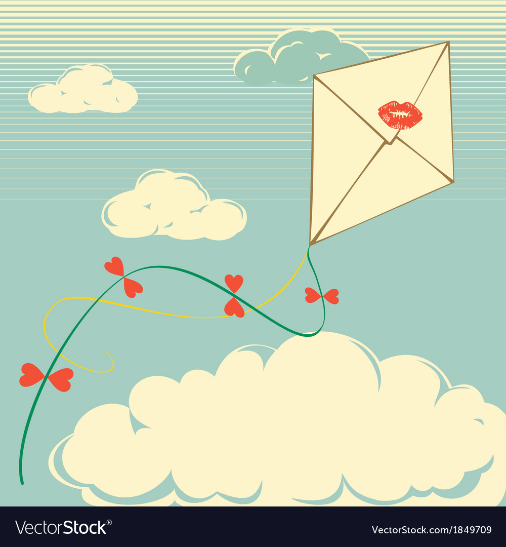 Envelope flies vector | Price: 1 Credit (USD $1)
